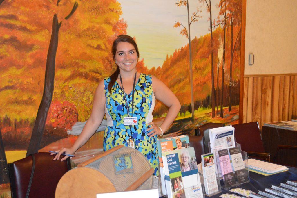 SourcePoint staff at a health fair